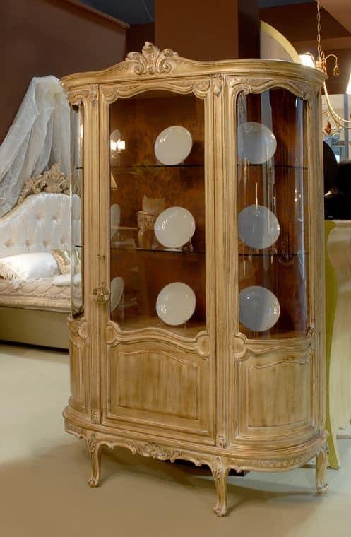vetrina con 2 ante per sala da pranzo, stile classico | idfdesign - Vetrine Da Soggiorno Classiche 2