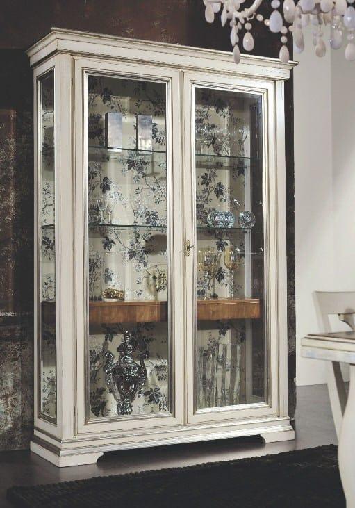 Armonie vetrina, Vetrina con cassetti interni e ripiani in vetro