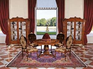 Art. 1161, Vetrina con 2 ante per soggiorno, stile classico