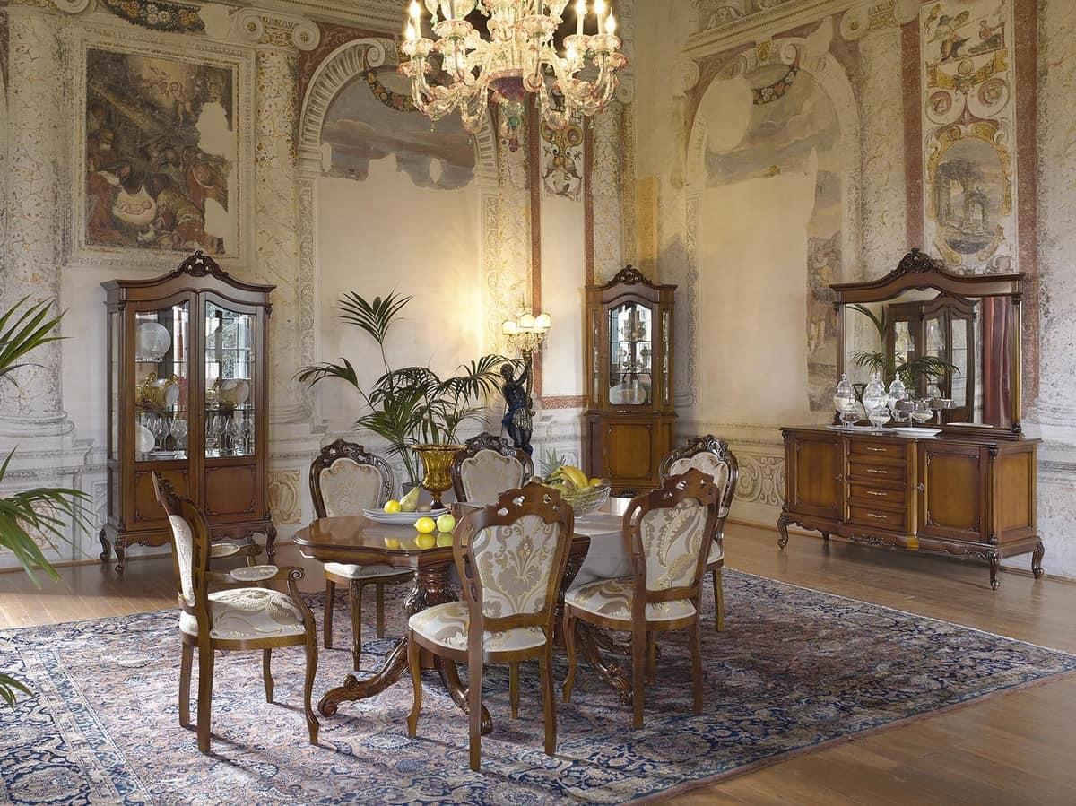Vetrina ad angolo in stile classico per ville e hotel for Ville stile classico