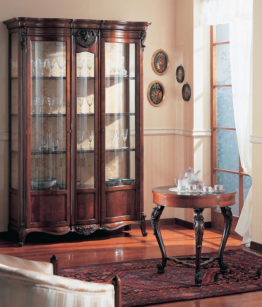 Mobile espositore di lusso per sala da pranzo idfdesign - Mobile sala pranzo ...