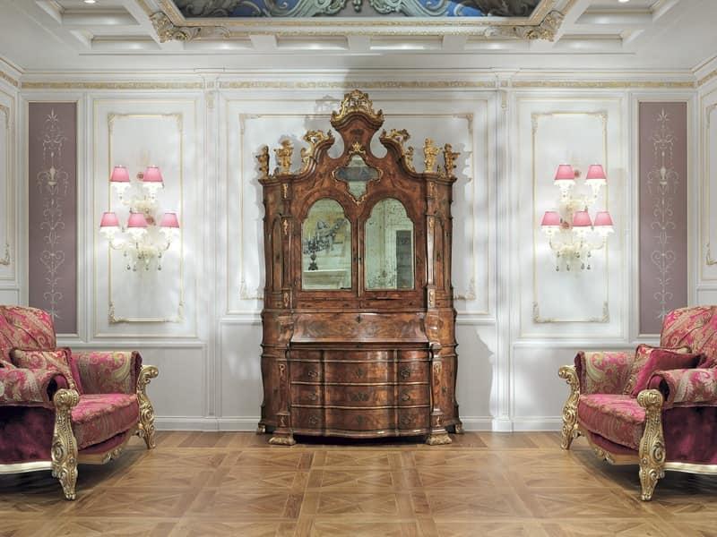 Vetrina elegante salotto idfdesign for Salotto elegante