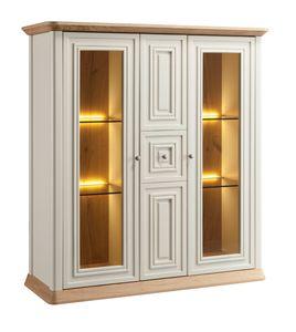 Romantica vetrina 7517, Vetrina classica con ante in vetro
