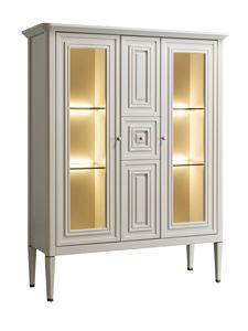 Romantica vetrina 7518, Vetrina classica con gambe