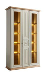 Romantica vetrina 7519, Vetrina classica con illuminazione integrata