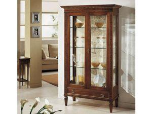 Siviglia vetrina, Vetrina classica con ripiani in cristallo