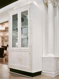 Immagine di Vetrina 050, vetrina con struttura in legno