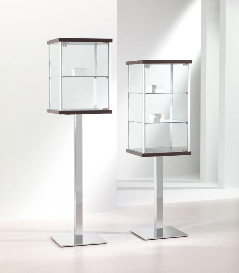 ALLdesign 2/PF - 3/PF, Vetrine cristallo, Vetrine espositive ...