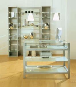 Aury 80/BA, Arredo negozi, vetrinette modulari, arredo spazi commerciali Negozi, Boutiques, Showroom