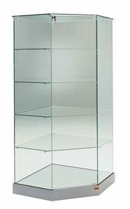 Laminato 182/AG, Vetrina angolare in cristallo
