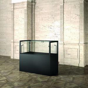 Museum MU/120FTM, Vetrina museale, con base in legno