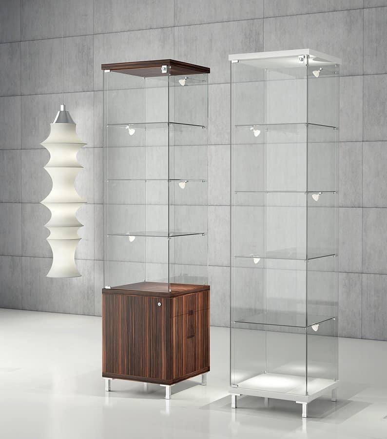 Mobile esposizione, vetrina moderna, per gioielleria ...