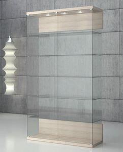 Quadratum VE/120, Vetrina in cristallo temperato, con serratura