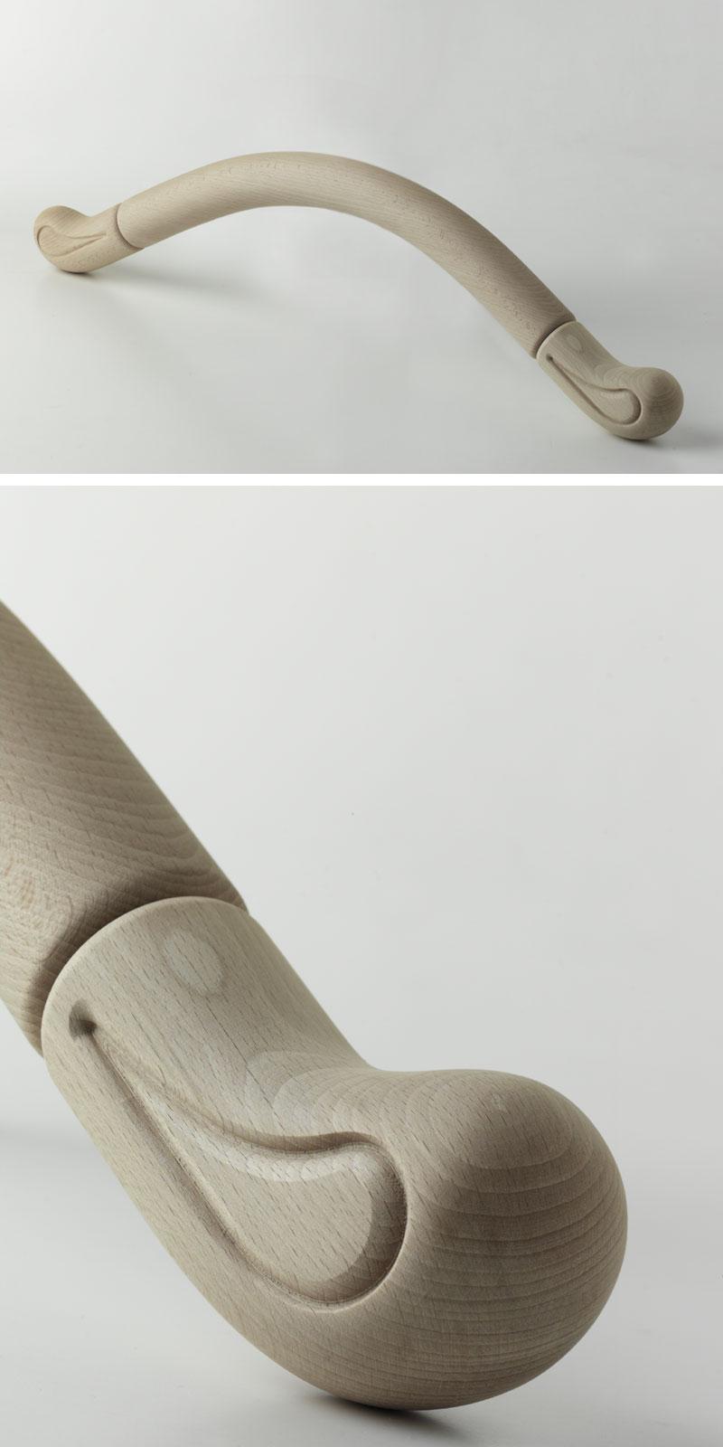TESTIERA, Testiera per letto in legno