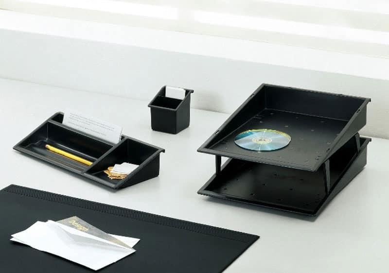 Desk up, Accessori per scrivania in tecnopolimero colorato