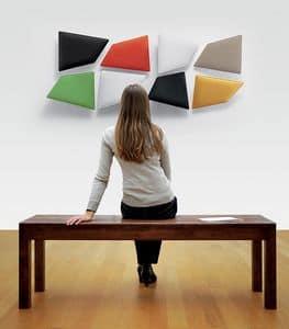 Flap 3, Pannello fonoassorbente modulare per ufficio e casa