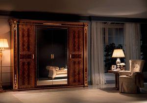 Modigliani armadio 4 ante, Armadio in stile impero