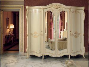 Opera armadio, Armadio stile classico con specchiera