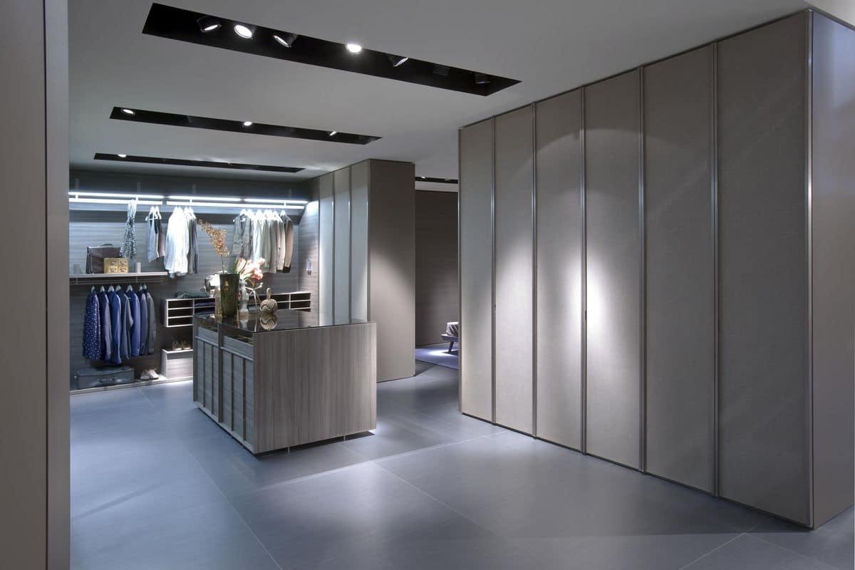 Armadio A Muro Design armadio a muro moderno ideale per camere da letto o cabine