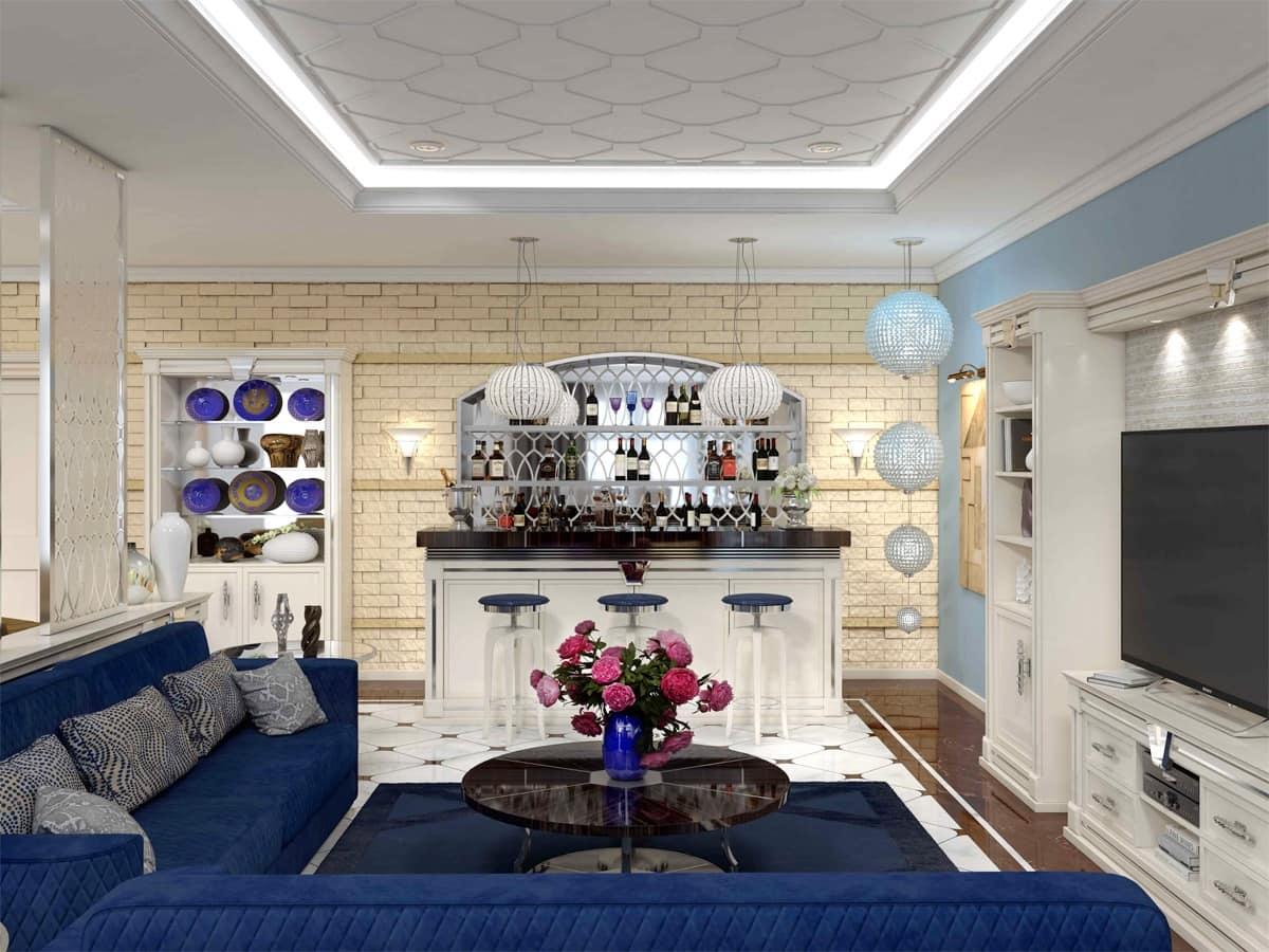 Angolo Bar Arredamento mobile per angolo bar lussuoso | idfdesign