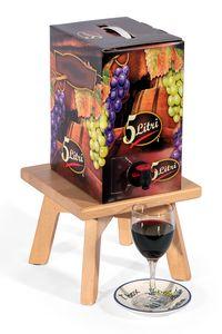 T. box, Porta Bag in Box in legno