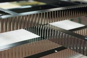 Profili Metallici a disegno, Profili metallici su misura, con finiture personalizzate