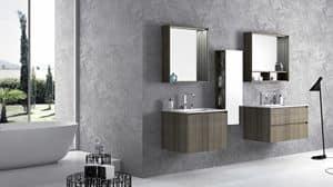 Torana TR 006, Arredamento da bagno, fatto in stile lineare