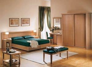 Collezione Thema, Arredo camera su misura, per albergo e b&b
