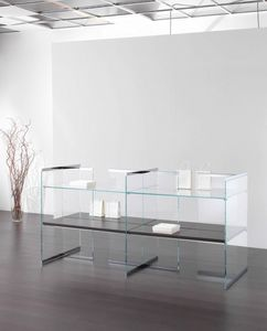 Glassystem COM/GS18, Mobile espositivo per negozio