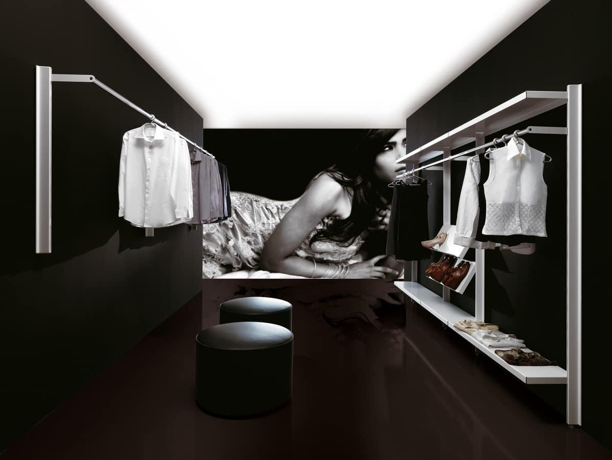 Big negozi, Appendiabiti moderno per ambienti conctract