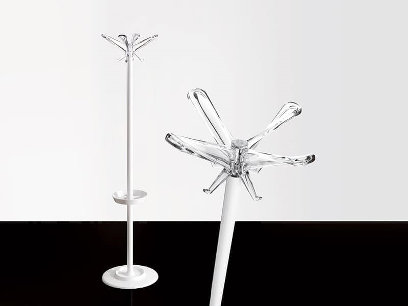 Swing appediabiti, Appendiabiti a piantana in metallo, per uffici