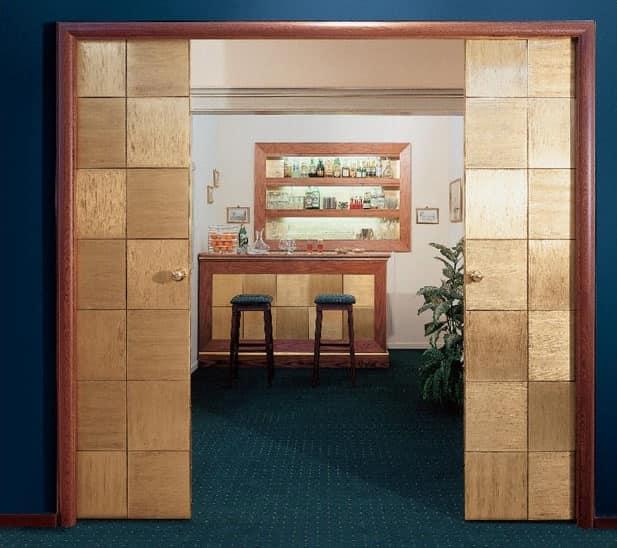 Collezione Century, Porte scorrevoli su misura, per alberghi, elevata qualità