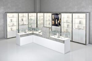 COM/QF11, Composizione d'arredo per gioiellerie