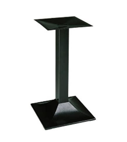 901, Base in metallo per tavolini da bar, ideale per esterno