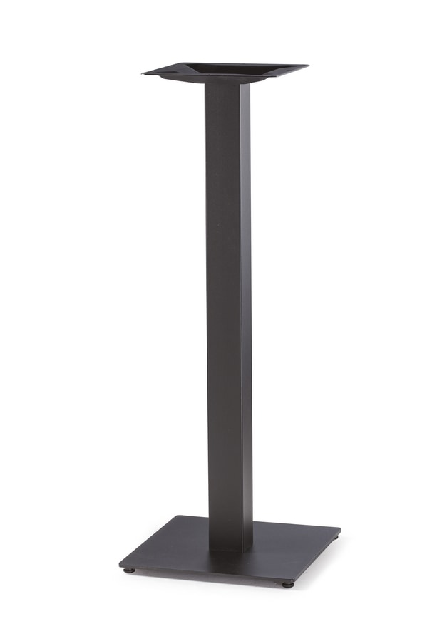 Art. 1034 Piatta snack, Base per tavoli alti, in ghisa nera