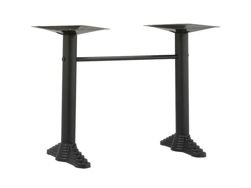 TG10, Supporti per tavolino con 2 colonne, per bar ed esterno