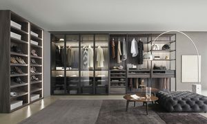 Bellavista, Cabina armadio con accessori personalizzabili