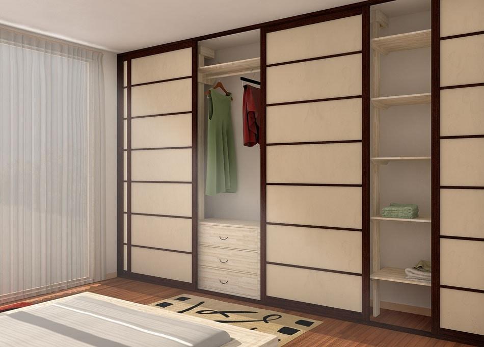 Cabina armadio in stile giapponese | IDFdesign