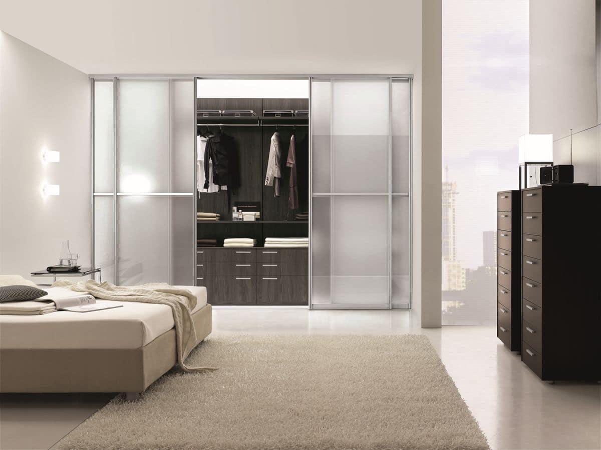Mobile Ponte Camera Da Letto cabina armadio ideale per camere da letto moderne | idfdesign