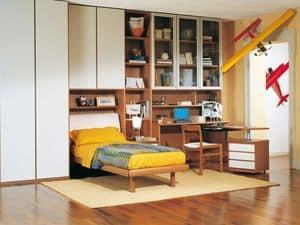 Camera Ragazzi 06, Camera componibile per ragazzi, di alta qualit�