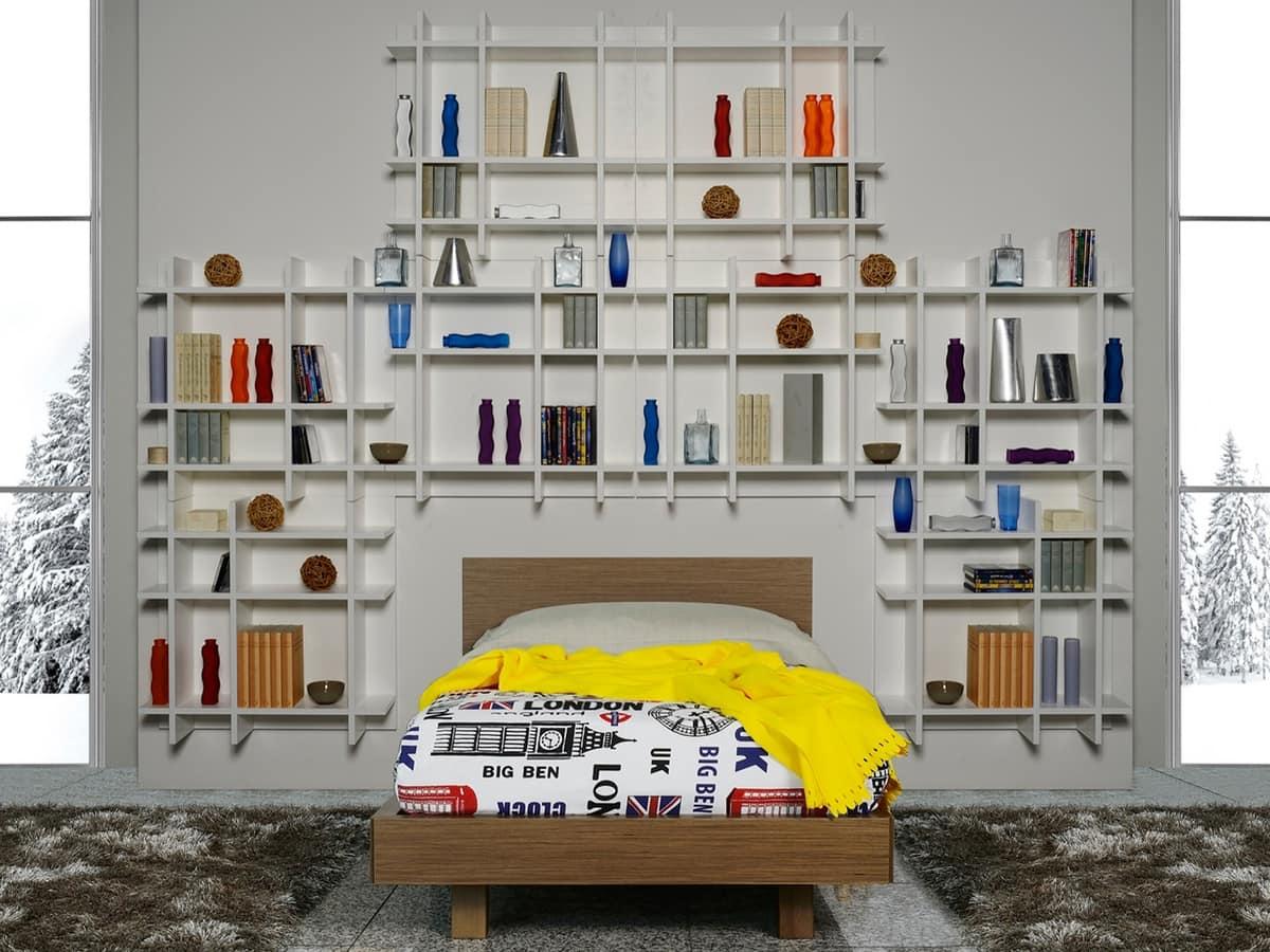 Librerie Per Camerette Bambini cameretta per ragazzi dotata di libreria | idfdesign