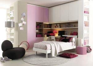 Comp. 203, Camera da letto, ottimizzazione dello spazio e confort