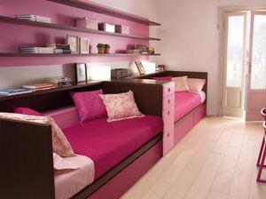 Compact 7040, Cameretta rosa per bimbe