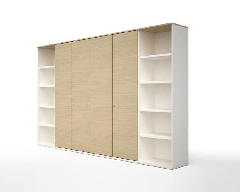 Mobili in legno per ufficio, Contenitori ufficio - File wood by Estel ...