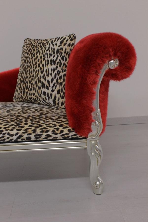 Cleopatra Animalier, Dormeuse leopardata, stile barocco