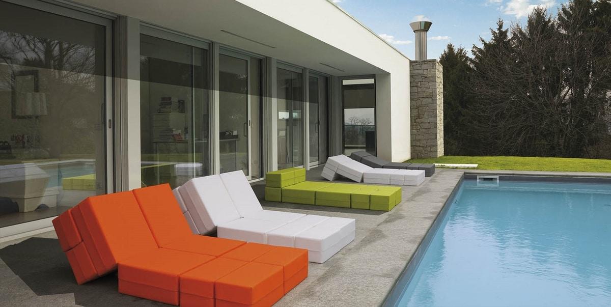 Kuboletto, Seduta trasformabile per indoor ed outdoor