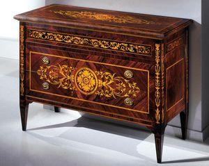 Art. 232 Versailles, Comò con preziosi intarsi