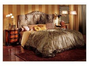 Florence comodino 708, Comodino intarsiato per camera da letto