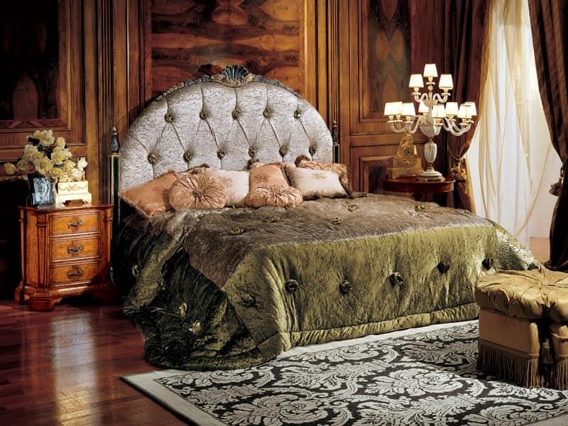 Paradise comodino 706 C, Comodino classico di lusso in legno