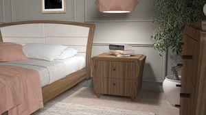 La Nuit comodino, Elegante comodino in legno